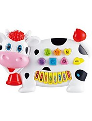 cheap -Music Toys Toy Instruments Electronic Keyboard Educational Toy Toys Musical Instruments Cow Animal Fun Plastics Kids' Kid Toddler Pieces