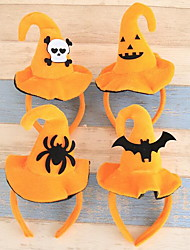 Недорогие -Хэллоуин различные прекрасные повязка обруча тыквы летучие мыши шляпа взрослые дети Хэллоуин партии одевания поставок