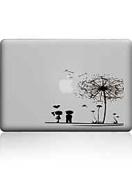 cheap -MacBook Case For New MacBook Pro 13 15 Air 11 13 Pro Retina 13 15 Macbook 12 Case Cover PVC Material Transparent Dandelion MacBook Case