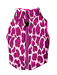 Dog Vest Dog Clothes Casual/Daily Leopard