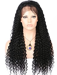New Style Curly Mogolian Human Hair Lace Front Wig 130% Density Curly 13x6 Deep Parting Lace Front Human Hair Wig For Black Women