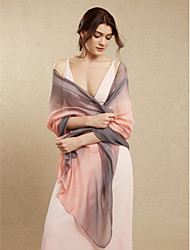 Rayon Wedding Party / Evening Women's Wrap Shawls Estilo elegante