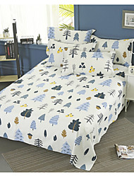 Comfortable Poly/Cotton Flat Sheet Creative