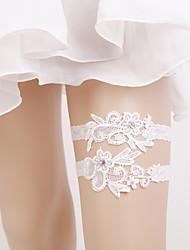 abordables -Elástico Liga de la boda - Perla