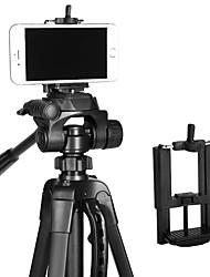 Liga de Alúminio 68 3 Secções Universal Tripé de smartphone
