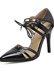 Sapatos femininos primavera / verão / outono / inverno gladiador / conforto / novidade leatherette casamento / festa&Noite / vestido