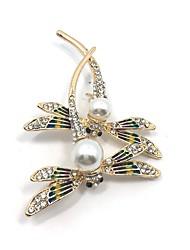levne -Dámské Brože imitace drahokamu Zvířecí Slitina Animal Shape Šperky Pro Párty Denní Ležérní Večerní oslava