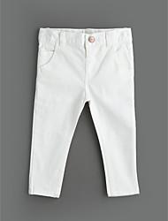 billiga -Flickor Enfärgad Bomull Jeans