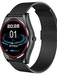 N3 Heart Rate Monitor Bluetooth Smart Watch Wireless Charging Support Call Reminder Fitness black Smart Watch
