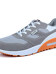 cheap -Men's Shoes Rubber Spring / Fall Comfort Athletic Shoes Black / White / Black / Red / Black / Blue