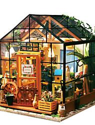 abordables -Puzzles 3D Puzzle Architecture 3D A Faire Soi-Même Bois Naturel Unisexe Cadeau