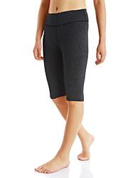 cheap -Women's Running Shorts Wearable Running/Jogging Exercise & Fitness Polyester Black Light Grey Dark Gray S M L XL