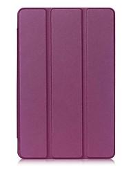 abordables -Caja de cuero de la PU del patrón del color sólido con el soporte para la almohadilla 3 del lg g 10.1 PC de la tableta de x760 10.7