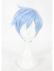 14inch Short Blue A3 Misumi Ikaruga Wig Synthetic Anime Cosplay Wigs CS-336C