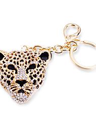 Bag / Phone / Keychain Charm Leopard Rhinestone Style Zinc Alloy