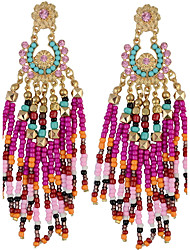 Drop Earrings Women's Euramerican Fashion Statement Luxury Tassel Bohemian Earrings  Party Daily Movie Jewelry