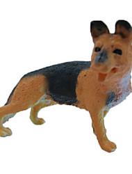 abordables -Figurines d'Animaux Chiens Animaux Simulation Articles d'ameublement Caoutchouc silicone Adolescent Cadeau