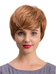 economico -Parrucche dei capelli umani capelli corti e corti e graziosi per le donne