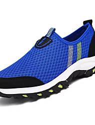 abordables -Homme Chaussures Grille respirante Printemps / Eté Semelles Légères Mocassins et Chaussons+D6148 Bleu de minuit / Gris foncé / Bleu royal