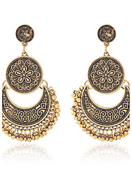 cheap -Women's Drop Earrings Hoop Earrings Fashion Vintage Personalized Simple Style Classic Costume Jewelry Alloy Jewelry For Gift Evening