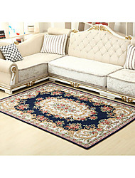 cheap -Creative Modern Area Rugs Polyester, Superior Quality Rectangle Floral Rug