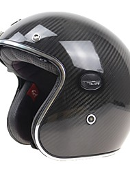 Half Helmet Durable Light Weight High Quality Carbon Fiber + EPS Motorcycle Helmets