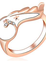 Dámské Široké prsteny Přizpůsobeno Luxus Klasické Základní Sexy láska Módní Cute Style Elegantní Slitina Křídla / Peří Šperky Vánoce