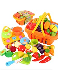 Pretend Play Toy Kitchen Sets Toy Foods Toys Fish Friut Simulation Kids Boys Pieces