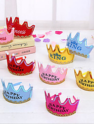 Decorating Hats For Children's Birthday Parties/Christmas LED Lighting Crown/Baby's Birthday Hats