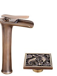 cheap -Centerset Ceramic Valve Bathtub Faucet