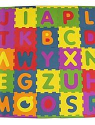 cheap -Jigsaw Puzzle Logic & Puzzle Toys Toys Square Letter Eco-friendly EVA Foam Rubber Children's Kids Pieces
