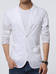 cheap -Men's Casual/Daily Casual Summer Blazer