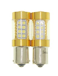 Sencart 2pcs Bau15s 1056 PY21W Flashing Bulb Led Car Tail Turn Reverse Light Bulb Lamps(White/Red/Blue/Warm White) (DC/AC9-16V)