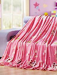 Недорогие -Супер мягкий Животные Полиэфир одеяла