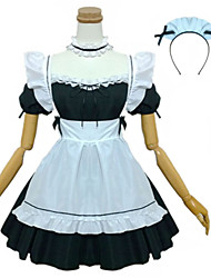 cheap -Maid Costume Oktoberfest Waitress Cosplay Costume Masquerade Maid Suits Female Adults' Carnival Oktoberfest Festival / Holiday Halloween