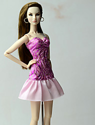 cheap -Dresses Dresses For Barbie Doll Dress For Girl's Doll Toy