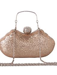 economico -Donna Sacchetti Similpelle Borsa da sera Con diamantini Catene in metallo Paillettes per Matrimonio Serata/evento Formale Per tutte le