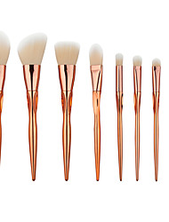 High Qaulity 8pcs Pro Makeup Brushes Set Blending Eyeshadow Foundation Luxury Cosmetic Brush Heart-Shaped Rose Gold