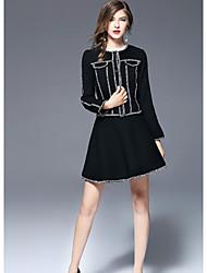 cheap -FRMZ Women's Jacket - Color Block, Pure Color