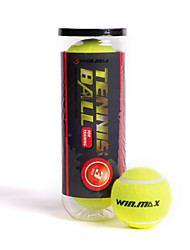 WIN.MAX 3pcs / 1 Set Outdoor Sports Yellow High Elasticity Tennis Balls For Training Competition