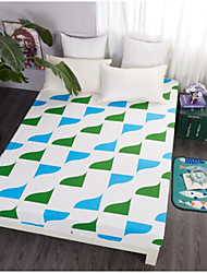 Geometric Cotton Fitted Sheet
