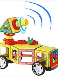 Blocos de Construir Blocos magnéticos Conjuntos de construção magnética Brinquedos Urso Outra Peças Crianças Dom