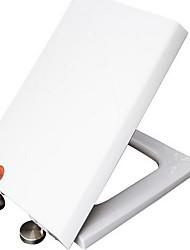 assento de vaso sanitário espessura fechada montagem quadrada montagem rápida montagem em disco de aço inoxidável