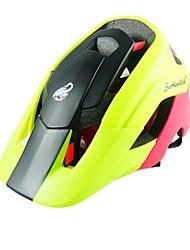 Moto Capacete CE Certificado Ciclismo 15 Aberturas Ultra Leve (UL) Esportivo Jovem Unisexo Ciclismo de Montanha Ciclismo de Estrada