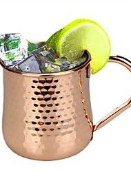 cheap -500ml Turkey Stainless Steel Copper Plated Juice Cocktail Mug