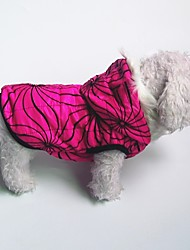 Hund Mäntel Hundekleidung Lässig/Alltäglich Geometrisch Fuchsia Blau