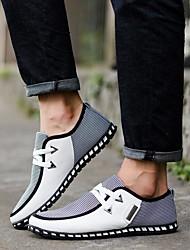 abordables -Homme Chaussures de confort Polyuréthane Printemps / Automne British Basket Marche Noir / Vert / Bleu / Combinaison / De plein air / Semelles légères