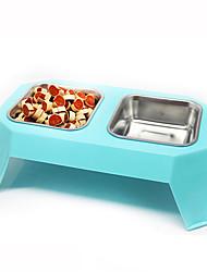 Katze Hund Schalen & Wasser Flaschen Haustiere Schüsseln & Füttern Zufällige Farben