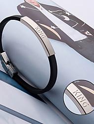 cheap -Korean fashion jewelry titanium silicone bracelet bracelet silicone bracelet jewelry small