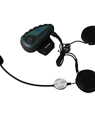 cheap -2017 FreedConn  V8 Pro Motorcycle Helmet Bluetooth Headset Intercom 5 Riders 1200M Wireless Intercomunicador BT Interphone
